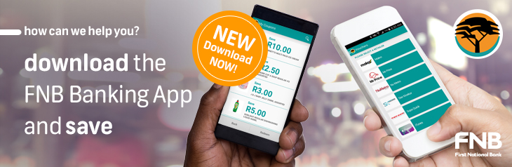 FNB App Vouchers and Coupons Launch